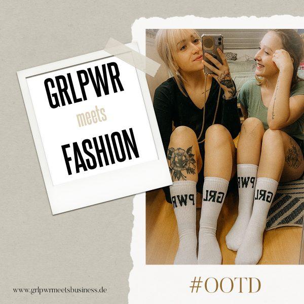 GRLPWR-Socken